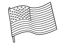 flag coloring page coloring pages