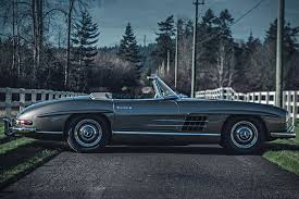 auction block 1958 mercedes 300 sl roadster hiconsumption