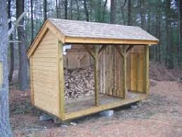 open sided shed plans free