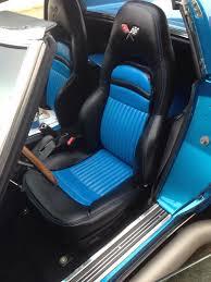 corvette seat covers c4 c4 seats into a 70 c3 project corvetteforum chevrolet