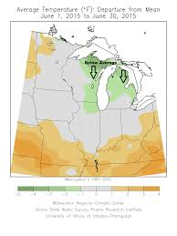 Normal Illinois Map by Tim Burr U0027s Weather Blog June 2015 Climate Summary For Duluth