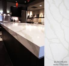 featured in this kitchen island countertop u0027calacatta u0027 from our
