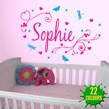 Letter Wall Decals For Nursery Letter Wall Decals For Nursery Best Name Wall Stickers Ideas On