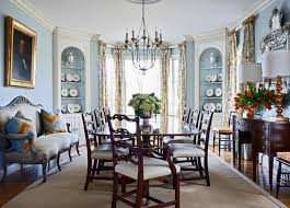 Southern Dining Rooms Southern Traditional Home Design House Design Plans