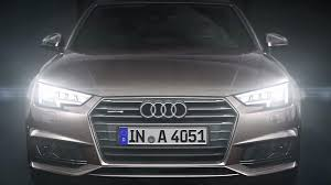 audi a6 headlights audi shows off a4 u0027s optional matrix led headlights video