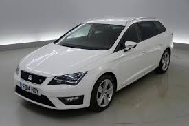 used seat leon fr white cars for sale motors co uk
