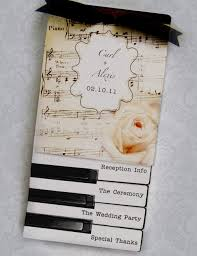 Wedding Programs Images Sheet Music And Piano Keys Layered Wedding Programs Jackie