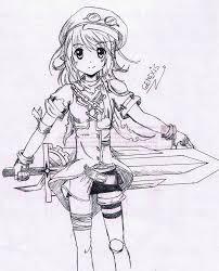 anime sketch by admin genexis on deviantart
