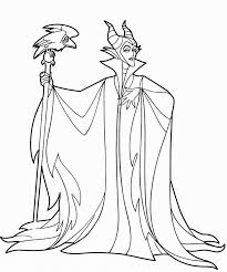 maleficent dragon castle cartoon coloring page throughout pages