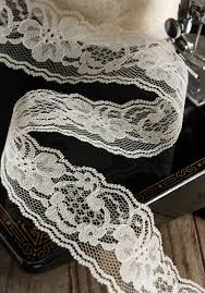lace ribbon wholesale lace ribbon 2in x 25yds ivory lace ribbon ivory and wedding