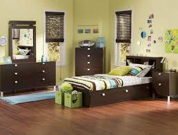 Basement Room Decorating Ideas Boys Bedroom Marvelous Design With Dark Walnut Frame Headboard In