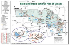 Rmnp Map The Trails Of Riding Mountain National Park Anywhere But Home