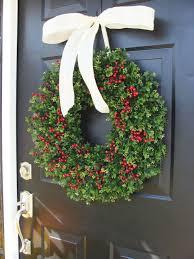 Wreath For Front Door 10 Handmade Front Door Christmas Wreaths U2013 Adorable Home