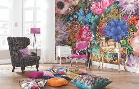 Komar Wall Mural Melli Mello Kevena Photo Wallpaper Wall Mural Colorful Flowers