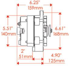 billet specialties bbc serpentine pulley u0026 bracket kit alternator