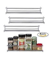 wall mounted spice rack cabinet rev a shelf door mount spice rack 38 00 spice racks storage