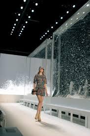 fashion runway show interior design yves saint laurent around
