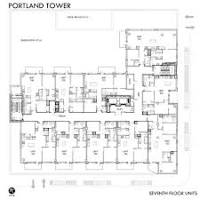 Floor Layouts Floor Plans Downtown Minneapolis Condos For Sale Portland Tower