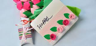 make a gift card easy diy project how to make a lovely felt roses gift card for