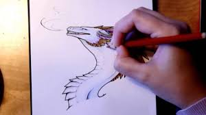 color time dragon colored pencil drawing youtube
