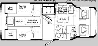 winnebago rialta rv floor plans used 2004 winnebago rialta 22 fd motor home class c at lichtsinn