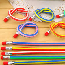 20pcs lot cute stationery colorful magic bendy flexible soft