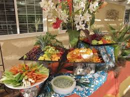 Backyard Wedding Food Ideas 13 Best Hawaii Wedding Food Display Ideas Images On Pinterest