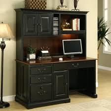Dark Wood Office Desk Computer Table Beautiful Decor On Home Office Furniture Intended