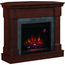 franklin 42 inch electric fireplace brown cherry 23dm871 gas