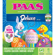 Easter Egg Decorating Kit by Paas Deluxe Egg Decorating Kit Walmart Com