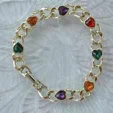 multi heart bracelet images Best vintage sweetheart bracelet products on wanelo jpg