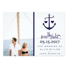 Nautical Save The Date Nautical Save The Date Invitations U0026 Announcements Zazzle