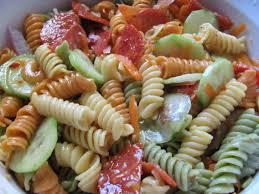 Pasta Salad Recipes With Italian Dressing Easy Recipe Italian Pasta Salad Sabroso Saturday U2013 New York