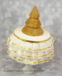Christmas Cake Decorations Videos by Sugared Productions Online Classes Sugaring