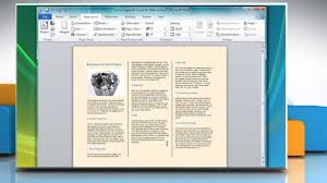 brochure templates for word 2007 how to make a tri fold brochure in microsoft word 2007