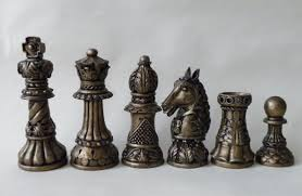 medium ornate latex chess moulds molds 9 by chessmouldsandmore