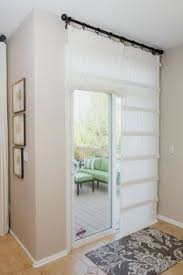 curtains and blinds for sliding glass doors cute covering and tie on the side back door la casa de ng