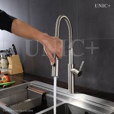 pull down style solid brass kitchen faucet kpf007 in vancouver