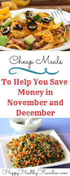 happy healthy families 5 easy budget friendly dinners when you