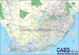 South Africa Political Map by Map Of South Africa Cabs Car Hire South Africa