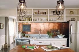 Kitchen Copper Backsplash Stunning Copper Backsplash For Modern Kitchens Copper Backsplash