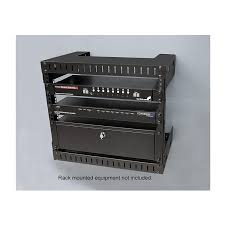 8u wall mount cabinet amazon com startech rk812wallo 8u open frame wall mount equipment