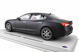2017 maserati granturismo matte black dtw corporation rakuten global market bbr 1 18 2017 モデル