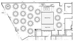 dance floor plan capacities u0026 floorplans chelsea piers connecticut stamford ct