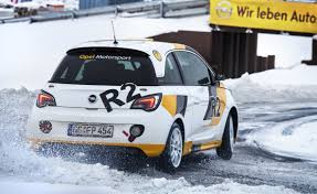 opel race car opel adam rallye r2 the city car is set to race off