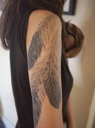 tattoo eagle girl inkspiration studded hearts feathers feather tattoos and tattoo