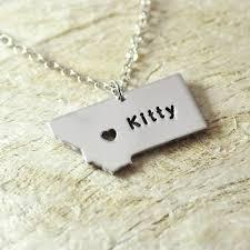 name charm necklace aliexpress buy montana wisconsin kansas mt wi ks necklace
