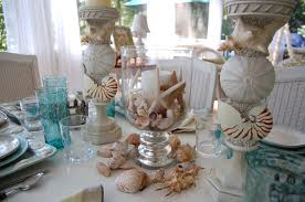 beach themed centerpieces for tables home design ideas and pictures