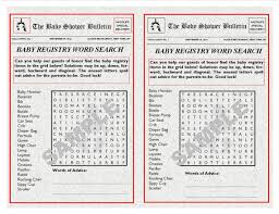baby registries search baby registry newspaper theme printable word search with