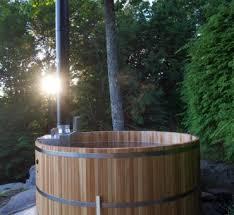 Wood Fired Bathtub Maine Cedar Tubs Cedar Tubs Handcrafted In Maine